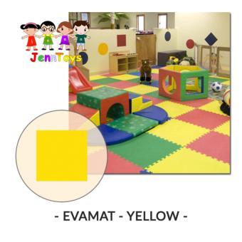 Evamat - Polos / Matras / Tikar / Karpet / Puzzle Alas LantaiEvamat - Yellow. >>>>