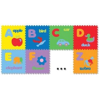 Jual Evamat Puzzle Huruf Gambar - 30x30x1 Cm - 26 Buah Murah