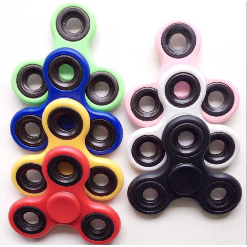 ... Fidget Spinner Hand Toys Mainan Tri-Spinner EDC Ceramic Ball Focus Games Penghilang Kebiasaan Buruk ...