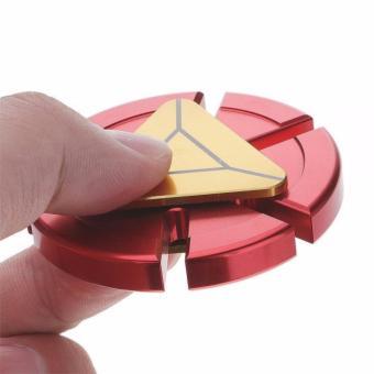 Fidget Spinner Iron Man Aluminium Premium Focus Hand Toys - Mainan Spinner Tangan EDC Aluminium Penghilang Kebiasaan Buruk - 2