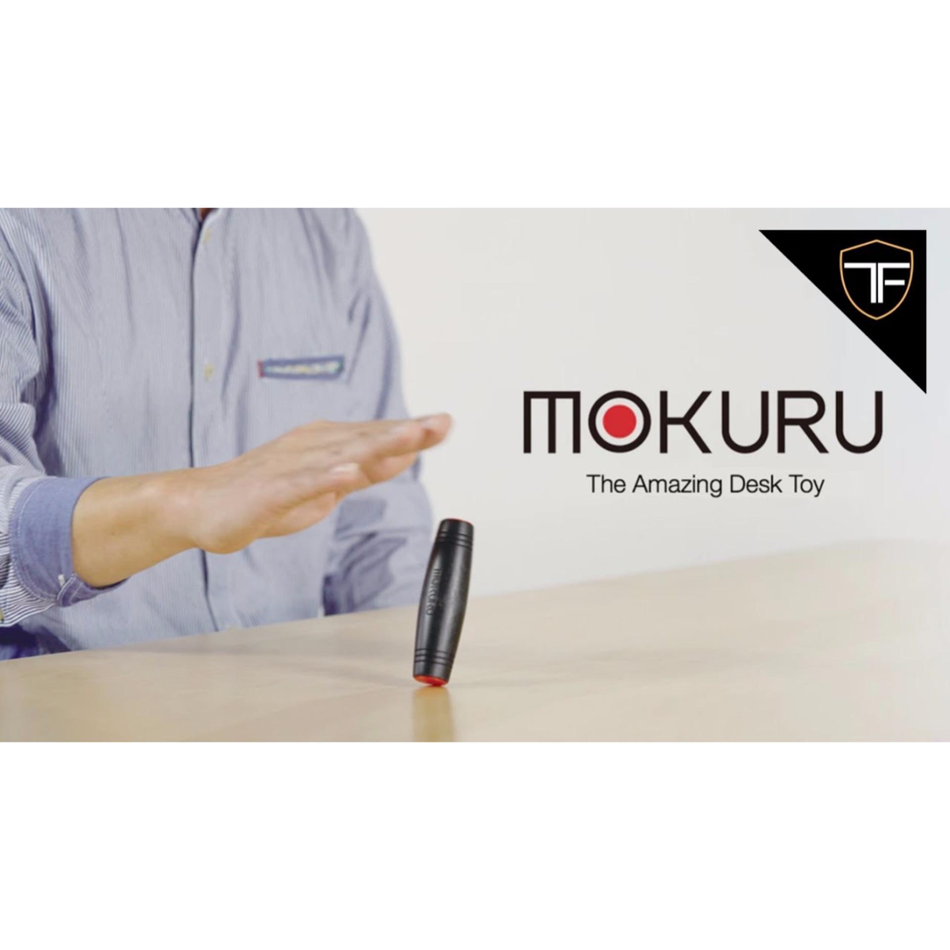 FIDGET TOY TERBARU Mokuru Original Fidget Spinner Hand / Mainan Spiner Tangan Penghilang Kebiasan Buruk .