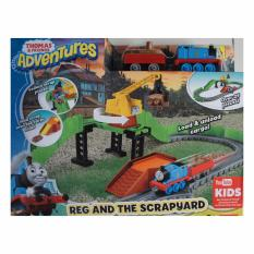 Fisher Price Thomas and Friends  Advent Reg AT the scrapyard