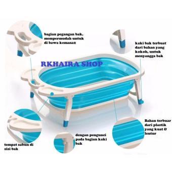Folding Baby Bath Tub / Bak Mandi Lipat Bayi