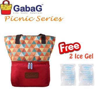 harga GabaG Cooler Bag Picnic Series Senja (Free 2 Ice Gel) Lazada.co.id