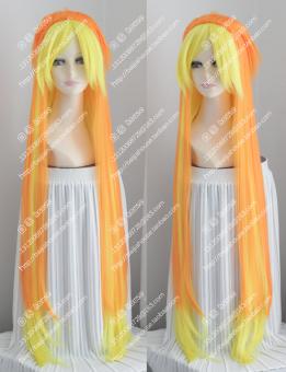 HEMAT Harajuku oranye Natal Halloween wig TERBAIK