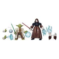 Hasbro Star Wars Hero Mashers - Yoda Vs Emperor Palpatine