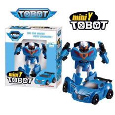 Hazzid Tobot Mini Y Transform Robocar Mainan Anak