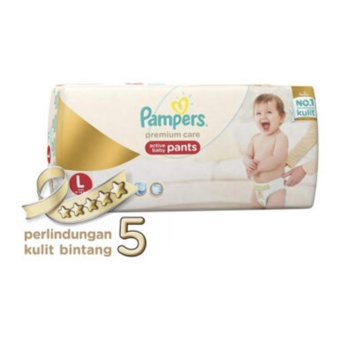Hot Deal - PAMPERS Popok Premium Care Pants L-42