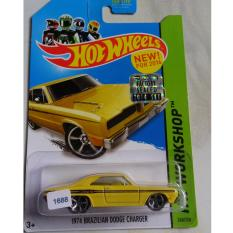 Hot Wheels - 1974 Brazilian Dodge Charger Yellow Akta Factory Seal