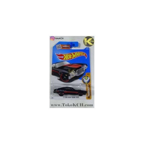Hot Wheels 2016 `72 Ford Gran Torino Sport Hitam Code : 18-