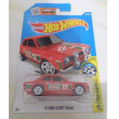 Hot Wheels - 70 Ford Escort RS 1600 Red Tampo Castrol