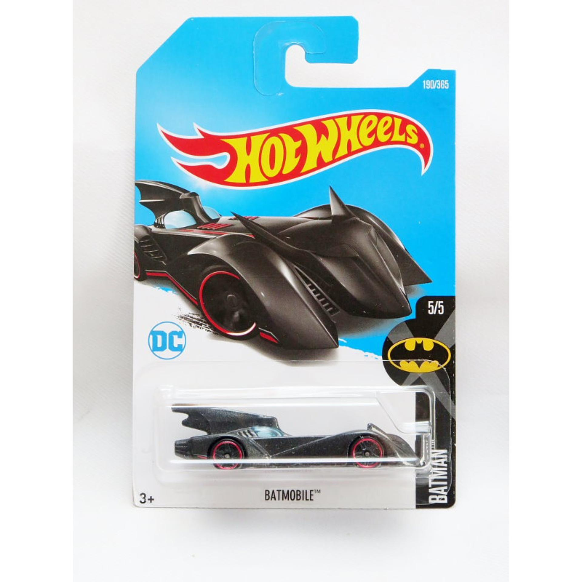 ... Hot Wheels Batmobile - redline - hitam ...