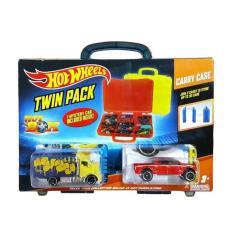 HOT WHEELS BOX TWIN PACK (2 BOX-3 CARS) 100% NEW-