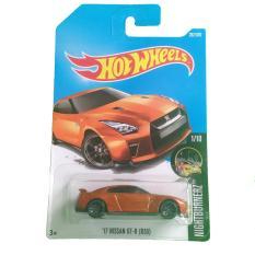 Hot Wheels Nissan GT-R (R35) - Oranye / Orange
