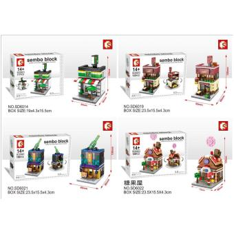 Harga Sembo mini world best seller 2