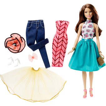 Harga Barbie® Fashion Mix 'n Match Doll - Brunette