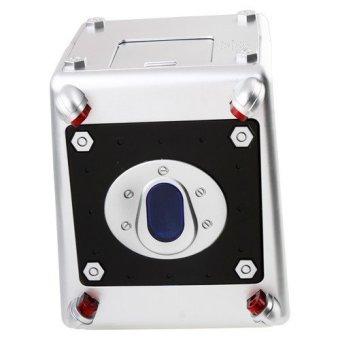 Hoshizora Laser Beam Safety Money Box Bank - Putih - 4 .