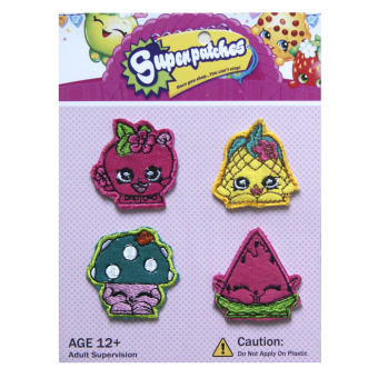 Harga Bearhug Iron Patches For Girl ( Super Patches B )