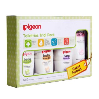 Harga Pigeon Toiletries Trial Pack