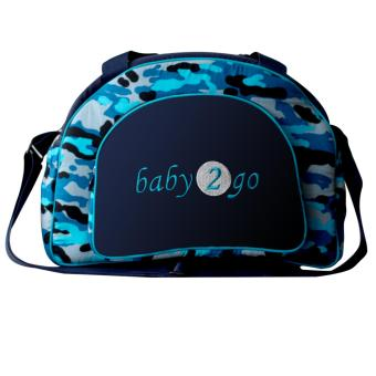 Harga Baby Scots Diapers Bag 2Go Army 11 - Blue