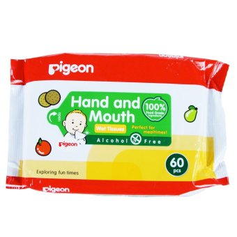 Harga Pigeon Wipes Hand & Mouth 60s
