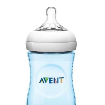 Harga Hot Deal - AVENT Bottle Nat 260ml Single - Blue x1
