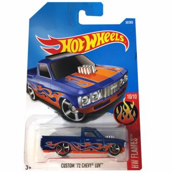 Harga Hot Wheels Custom '72 Chevy Luv - Biru