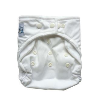 PAlight Popok Kain Popok Bayi Yang Dapat Dicuci (Putih) .