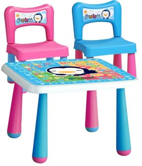 Harga Puku Petit Children Table & Chair - Warna Warni