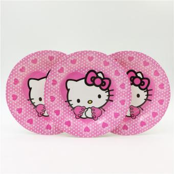 Harga Piring Motif Hello Kitty 10 Pcs