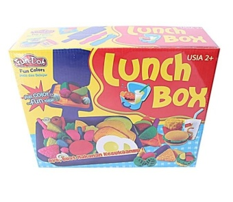 Harga Fun Doh Lunch Box