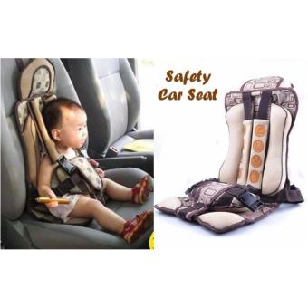 Harga Sakura Baby Safety Car Seat - COKLAT
