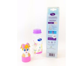 Harga Baby Safe - Feeding Bottle 250 (Funny Head Bottle)-Botol Susu Lola Bunny