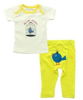 Harga Bearhug 2-Piece Set for Baby Boy ( Bird )