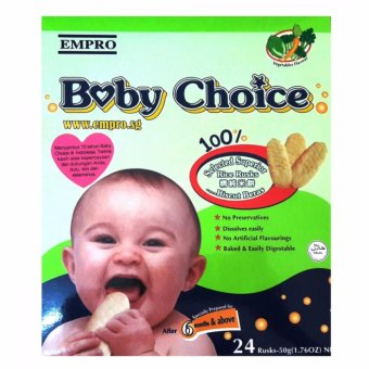 Harga Empro Baby Choice Vegetable 50 gr