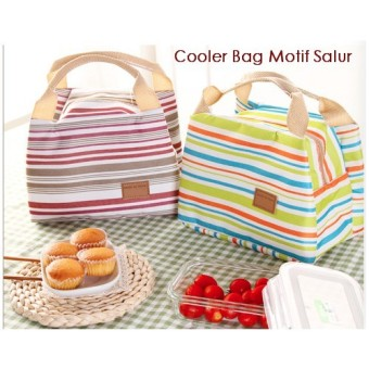 Harga Lunch Bag / Coolar Bag/ Lunch Box Coolar Bag Motif Salur