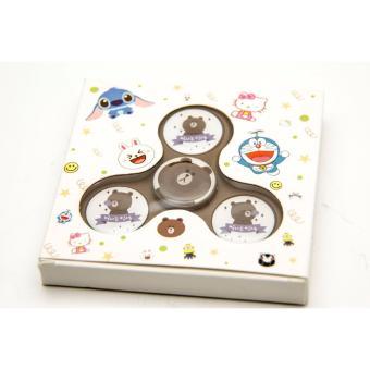 Promohan Fidget Spinner Characterkarakter Minion Led Kuning Source · HAN Fidget Spinner Character Line Brown Multicolor 4