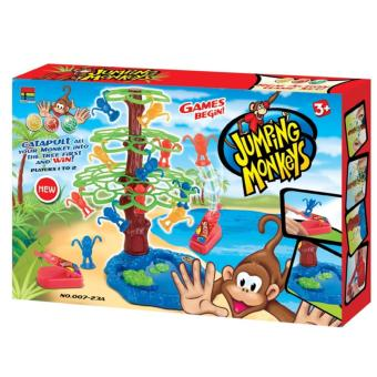Harga TSH Mainan Keluarga Jumping Monkey | Family Game -Multi Colour