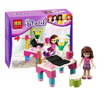 Harga Brick Bela Exclusive Friends Single Character Olivia Edition