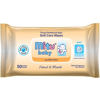 Harga Mitu Baby Pack 50s Hand & Mouth
