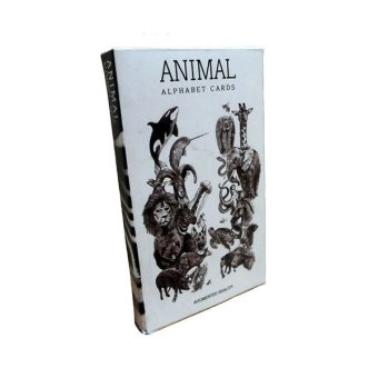 Harga BMB Animal Alphabet Card 4D Octagon Studio