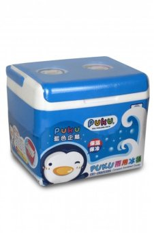 Harga Puku Compact Insulated Cooler Box Biru