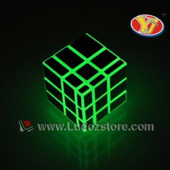 Gambar Produk Rubik 3x3 MIRROR Color Glow In The Dark Finhop Yong Jun Original Magic Cube