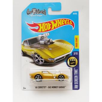 Harga Hotwheels '68 Corvette - Gas Monkey Garage