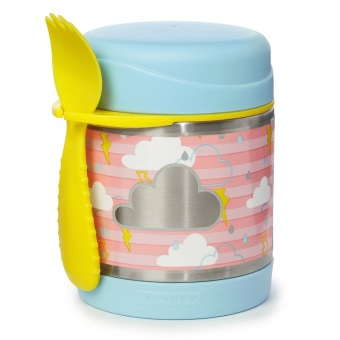 Skiphop Forget Me Not Insulated Food Jar Cloud