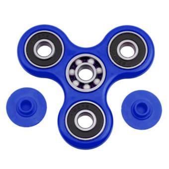 Fidget Spinner Hand Toys Mainan Tri-Spinner Ball Bearing EDC Focus Games .