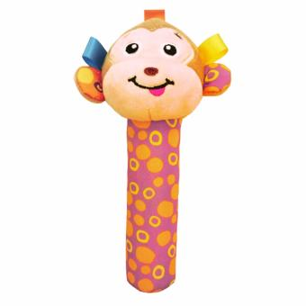 Harga Jacky Baby Rattle Stick - Monkey