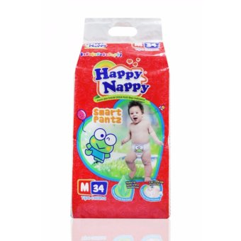 Harga Keropi HAPPY NAPPY smart pantz M34