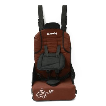 Harga Brown Safety Infant Children Baby Toddler Car Seat Booster Carrier Pad Portable Chair - intl