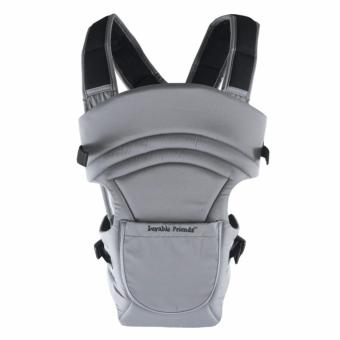 Luvable Friends 2in1 Baby Carrier Grey